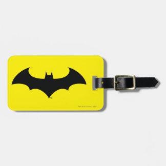 Batman Symbol | Simple Bat Silhouette Logo Bag Tag