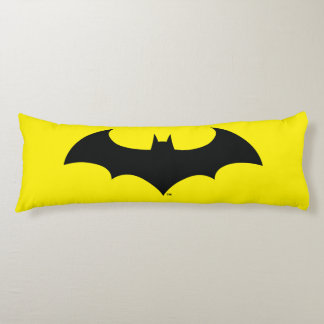 Batman Symbol | Simple Bat Silhouette Logo Body Pillow