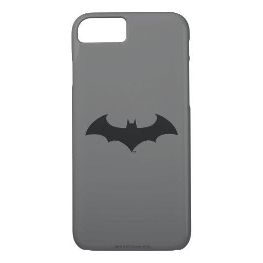 Batman Symbol | Simple Bat Silhouette Logo iPhone 8/7 Case