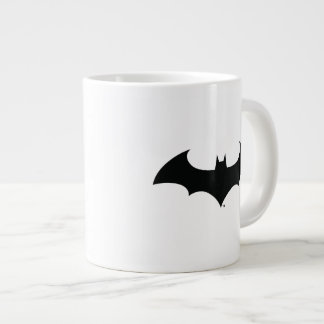 Batman Symbol | Simple Bat Silhouette Logo Giant Coffee Mug
