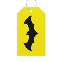 Batman Symbol | Simple Bat Silhouette Logo Gift Tags