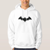 Batman Symbol | Simple Bat Silhouette Logo Hoodie