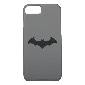 Batman Symbol | Simple Bat Silhouette Logo iPhone 7 Case