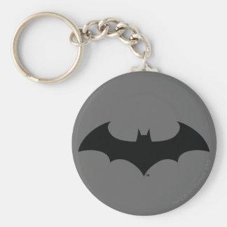 Batman Symbol | Simple Bat Silhouette Logo Keychain