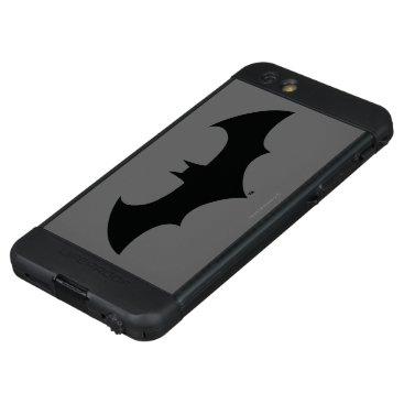 Batman Symbol | Simple Bat Silhouette Logo LifeProof NÜÜD iPhone 6s Plus Case