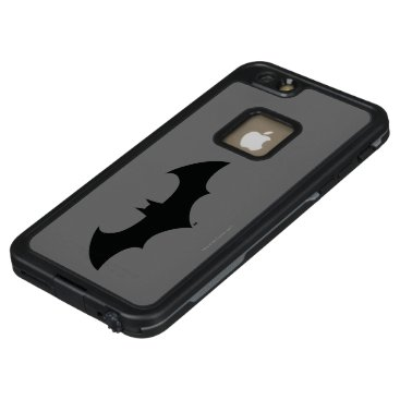 Batman Symbol | Simple Bat Silhouette Logo LifeProof FRĒ iPhone 6/6s Plus Case