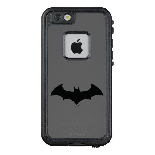 Batman Symbol | Simple Bat Silhouette Logo LifeProof FRĒ iPhone 6/6s Case