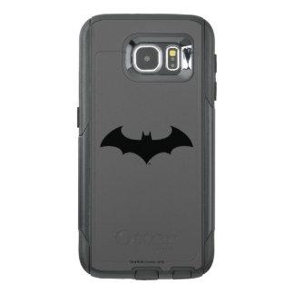 Batman Symbol | Simple Bat Silhouette Logo OtterBox Samsung Galaxy S6 Case