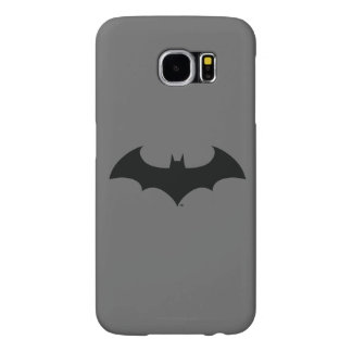 Batman Symbol | Simple Bat Silhouette Logo Samsung Galaxy S6 Case