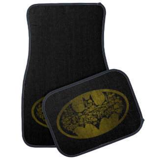 Batman Symbol | Skulls in Bat Logo Car Floor Mat