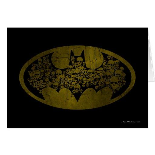Batman Symbol | Skulls in Bat Logo Card