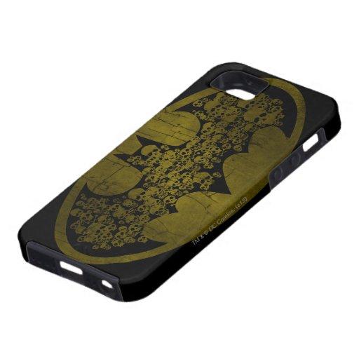 Batman Symbol | Skulls in Bat Logo iPhone SE/5/5s Case