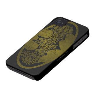 Batman Symbol   Skulls in Bat Logo iPhone 4 Cover