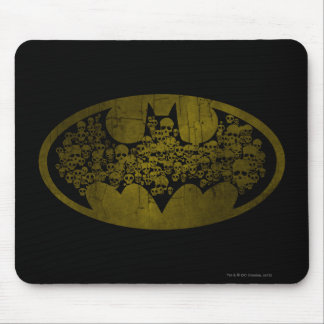 Batman Symbol | Skulls in Bat Logo Mouse Pad