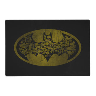 Batman Symbol | Skulls in Bat Logo Placemat