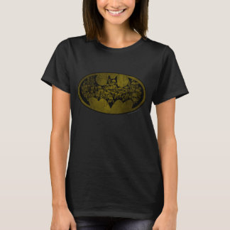 Batman Symbol | Skulls in Bat Logo T-Shirt