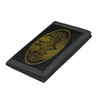 Batman Symbol | Skulls in Bat Logo Tri-fold Wallet