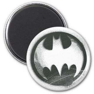 Batman Symbol | Spray Symbol Logo 2 Inch Round Magnet