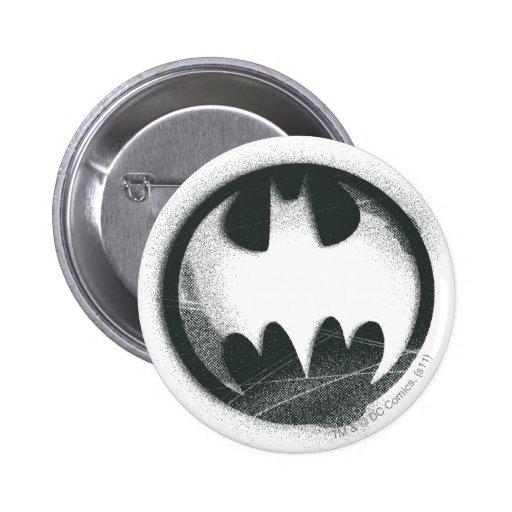 Batman Symbol | Spray Symbol Logo Pinback Button