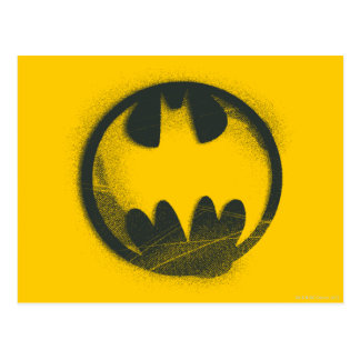 Batman Symbol | Spray Symbol Logo Postcard