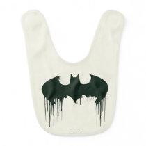 Batman Symbol | Spraypaint Logo Baby Bib