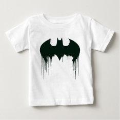 Batman Symbol   Spraypaint Logo Baby T-shirt at Zazzle