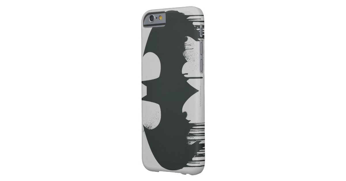 Batman symbol spraypaint logo barely there iphone 6 case for Spray paint iphone case