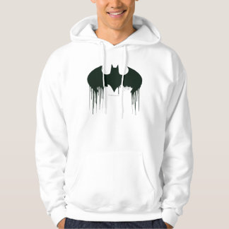 Batman Symbol | Spraypaint Logo Hooded Sweatshirt