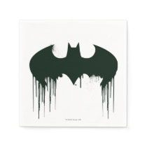 Batman Symbol | Spraypaint Logo Napkin