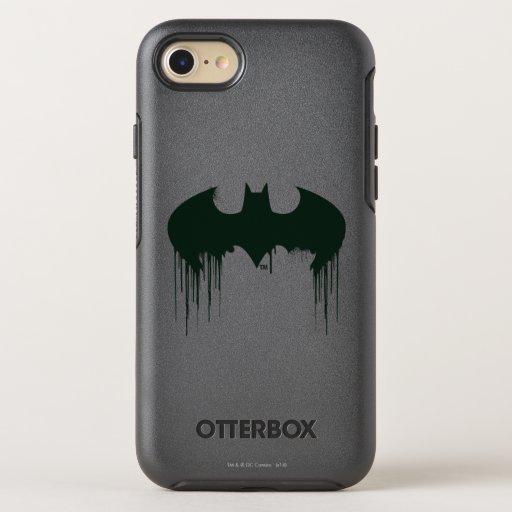 Batman Symbol | Spraypaint Logo OtterBox Symmetry iPhone 8/7 Case