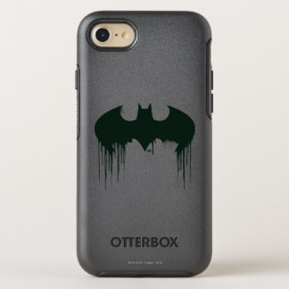 Batman Symbol | Spraypaint Logo OtterBox Symmetry iPhone 7 Case