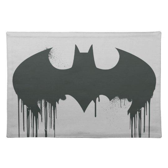 Batman Symbol | Spraypaint Logo Placemat