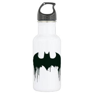 Batman Symbol | Spraypaint Logo Stainless Steel Water Bottle