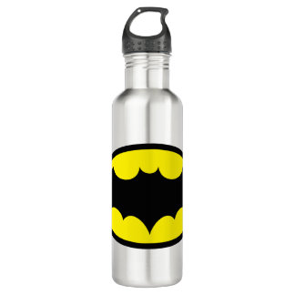 Batman Symbol Stainless Steel Water Bottle