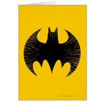 Batman Symbol | Streak Logo Card