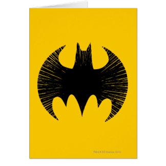 Batman Symbol   Streak Logo Card