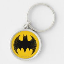 batman, batman logo, batman symbol, batman emblem, dark night, bat man, Keychain with custom graphic design