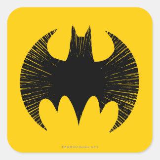 Batman Symbol | Streak Logo Square Sticker