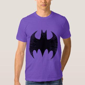 Batman Symbol   Streak Logo Tee Shirt