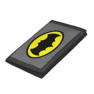 Batman Symbol Tri-fold Wallet