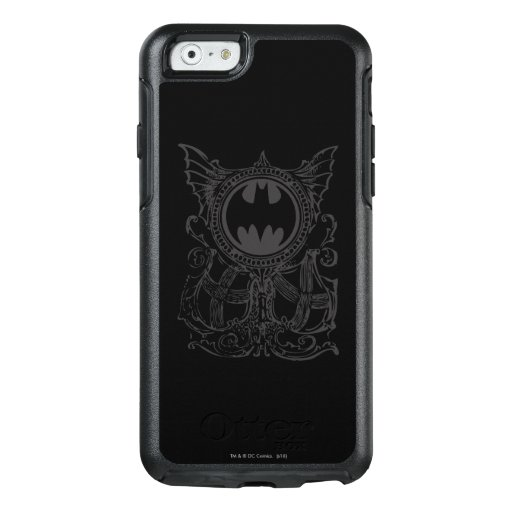 Batman Symbol | Urban Legends Black White Logo OtterBox iPhone 6/6s Case