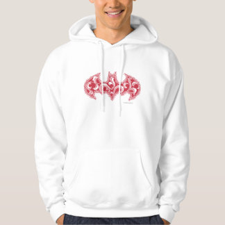 Batman Symbol | Urban Legends Red Waves Logo Sweatshirt