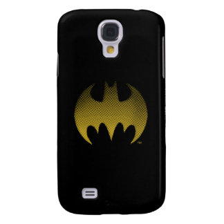 Batman Symbol | Yellow Fade Logo Samsung Galaxy S4 Cover