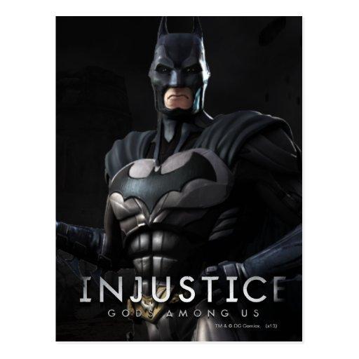 Batman Tarjeta Postal