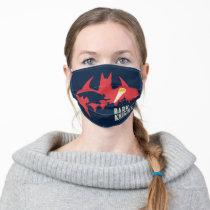 Batman The Dark Knight Bat Logo Adult Cloth Face Mask