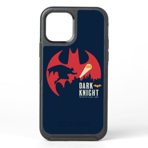Batman The Dark Knight Bat Logo OtterBox Symmetry iPhone 12 Case