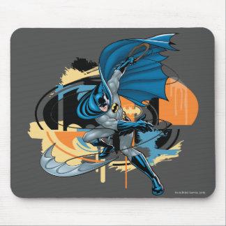 Batman Throw Mouse Pad