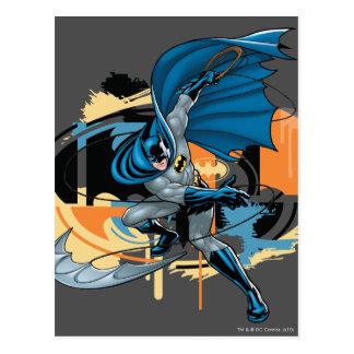 Batman Throw Postcard