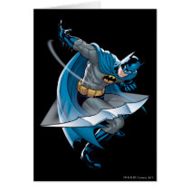 Batman Throwing Star Card