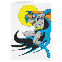 Batman Throws Batarang 2 Card